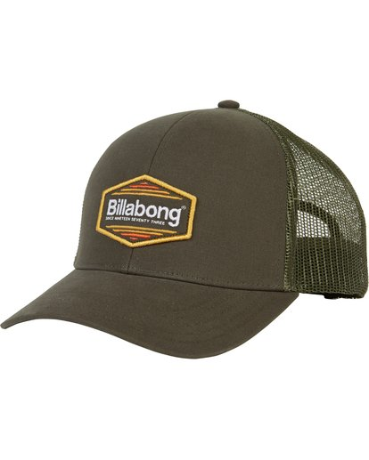 0 Walled Trucker Hat Green MAHWNBWA Billabong