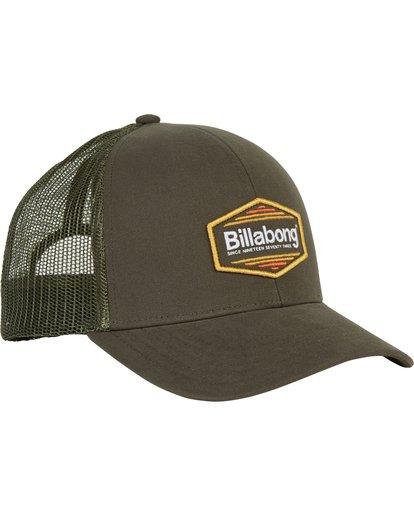 2 Walled Trucker Hat Green MAHWNBWA Billabong