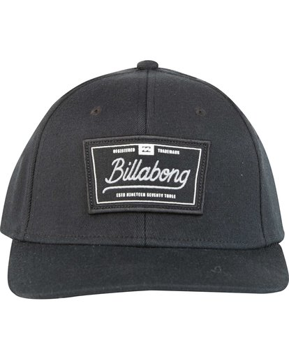 1 Walled Stretch Fit Hat Black MAHWNBWD Billabong