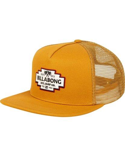 0 Flatwall Trucker Hat  MAHWPBFW Billabong