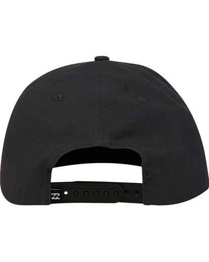 3 Primary Snapback Hat Black MAHWPBPR Billabong