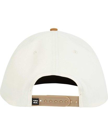 3 Primary Snapback Hat Grey MAHWPBPR Billabong