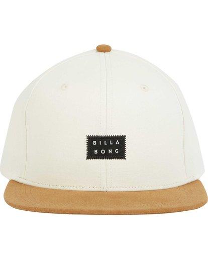 1 Primary Snapback Hat Grey MAHWPBPR Billabong