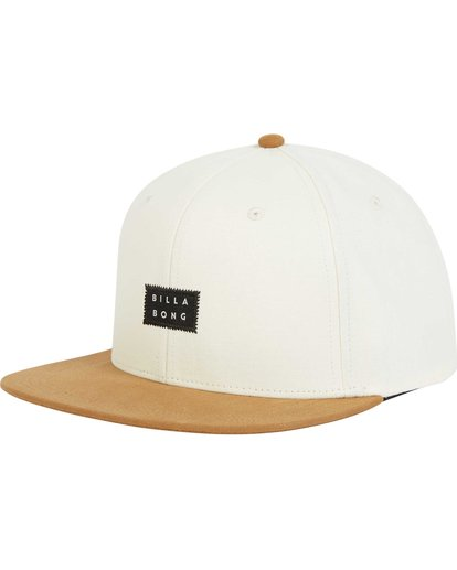 0 Primary Snapback Hat Grey MAHWPBPR Billabong