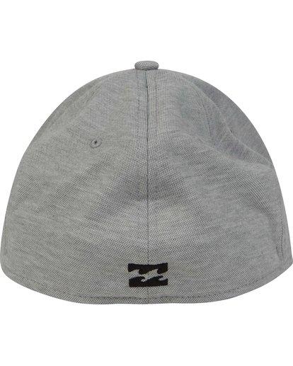 3 United Stretch Hat Grey MAHWPBUN Billabong