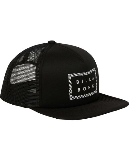 2 Upgrade Trucker Hat Black MAHWPBUP Billabong