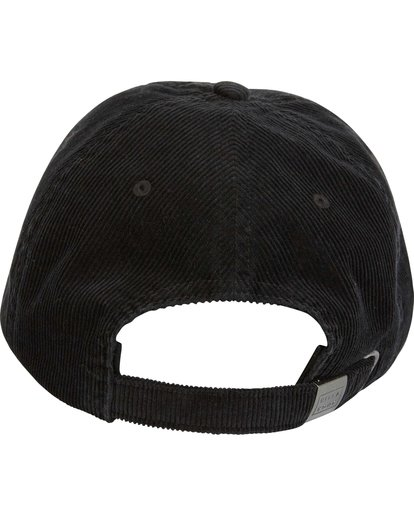 4 All Day Lad Cord Cap Black MAHWQBAC Billabong