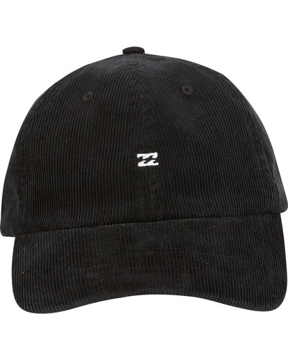 2 All Day Lad Cord Cap Black MAHWQBAC Billabong