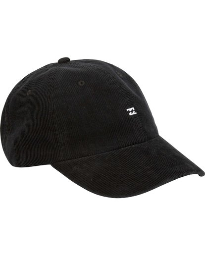 3 All Day Lad Cord Cap Black MAHWQBAC Billabong