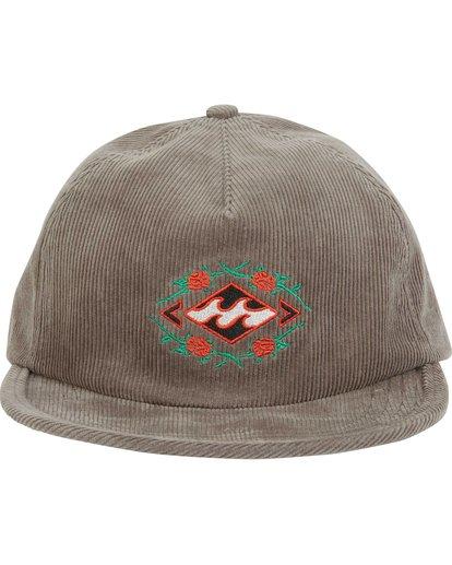 1 Re-Issue Cord Hat Grey MAHWQBRC Billabong