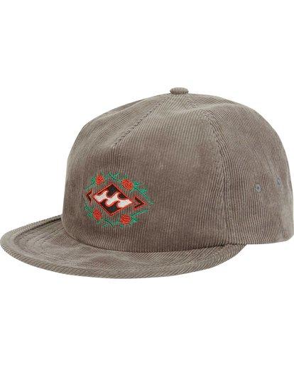 0 Re-Issue Cord Hat Grey MAHWQBRC Billabong