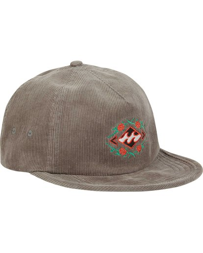 2 Re-Issue Cord Hat Grey MAHWQBRC Billabong