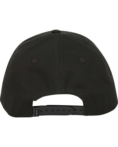 3 Walled Snapback Hat Black MAHWQBWS Billabong