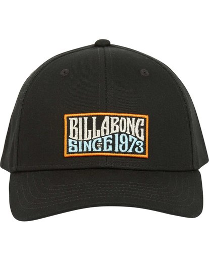 1 Walled Snapback Hat Black MAHWQBWS Billabong