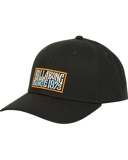 0 Walled Snapback Hat Black MAHWQBWS Billabong