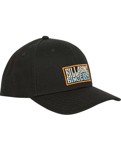 2 Walled Snapback Hat Black MAHWQBWS Billabong