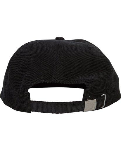 3 Boneless Corduroy Snap Back Hat Black MAHWSBBO Billabong