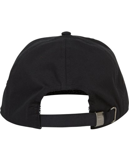 3 Groseille Snapback Hat Black MAHWSBGS Billabong