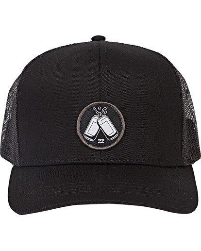1 Onyaparko Trucker Hat Black MAHWSBON Billabong