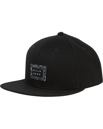 0 Plateau Twill Snap Back Hat Black MAHWSBPL Billabong