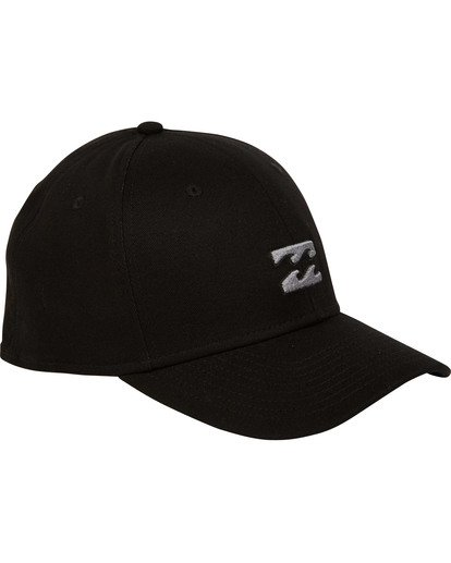 2 All Day Stretch Hat Black MAHWTBAD Billabong