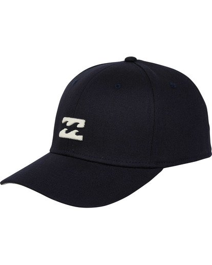0 All Day Stretch Hat Blue MAHWTBAD Billabong