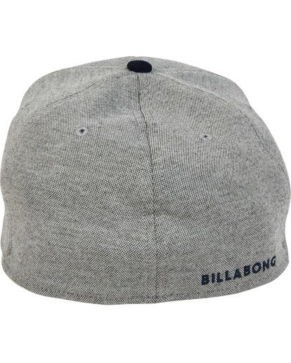 3 All Day Stretch Hat Grey MAHWTBAD Billabong