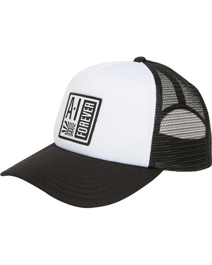 0 Stamp Trucker Hat Black MAHWTBAF Billabong