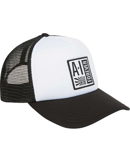 2 Stamp Trucker Hat Black MAHWTBAF Billabong