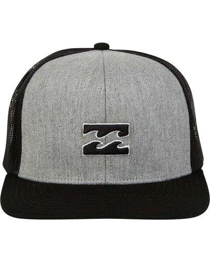 1 All Day Trucker Hat Grey MAHWTBAR Billabong