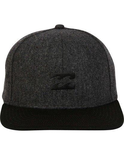 1 All Day Snapback Hat Black MAHWTBAS Billabong
