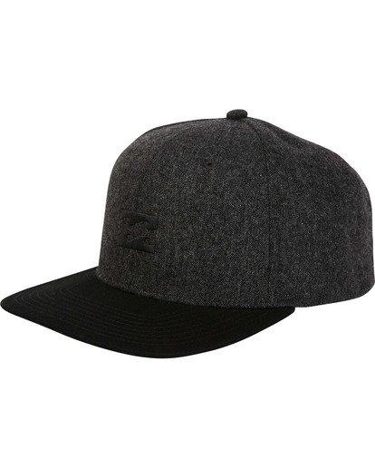 0 All Day Snapback Hat Black MAHWTBAS Billabong