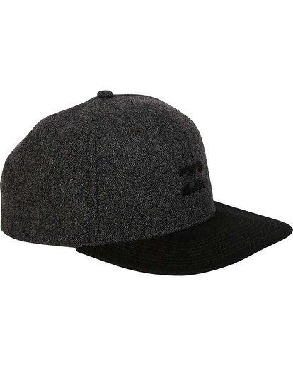 2 All Day Snapback Hat Black MAHWTBAS Billabong