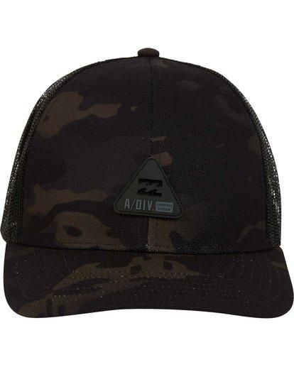 1 Multicam Trucker Hat Black MAHWTBAV Billabong