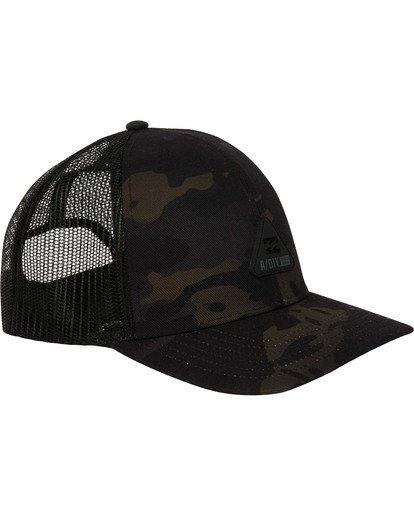 2 Multicam Trucker Hat Black MAHWTBAV Billabong