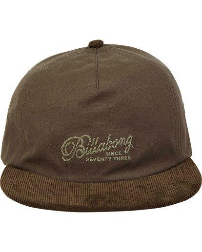 1 Boneless Hat Green MAHWTBBO Billabong