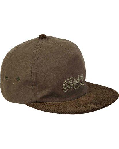 2 Boneless Hat Green MAHWTBBO Billabong