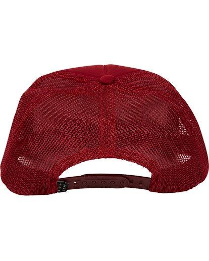 3 Eighty Six Trucker Hat Red MAHWTBEI Billabong