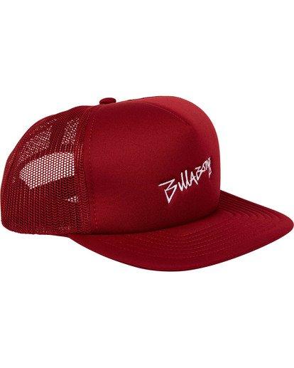 2 Eighty Six Trucker Hat Red MAHWTBEI Billabong