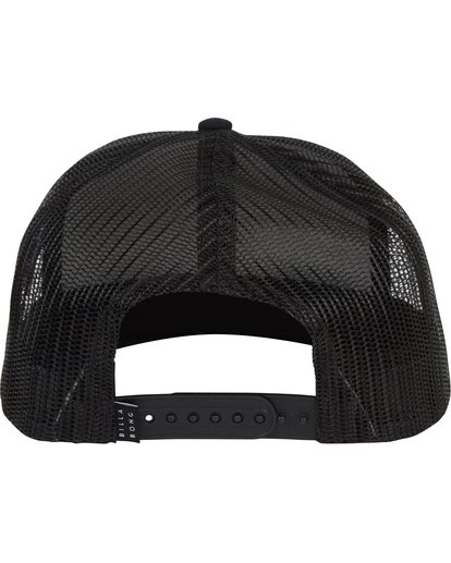 3 Flatwall Trucker Hat Black MAHWTBFW Billabong