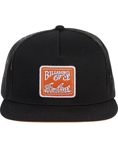 1 Flatwall Trucker Hat Black MAHWTBFW Billabong