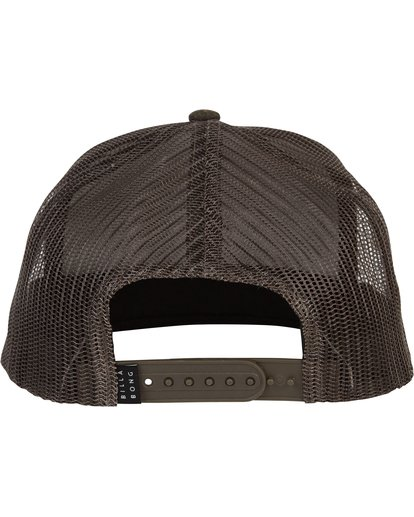 3 Flatwall Trucker Hat  MAHWTBFW Billabong
