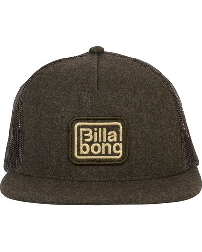 1 Flatwall Trucker Hat  MAHWTBFW Billabong