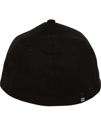 3 Mission Stretch Hat Black MAHWTBMI Billabong