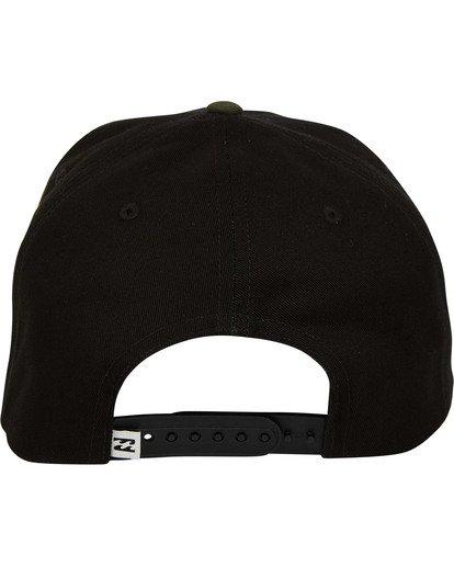 3 Plateau Snapback Hat Black MAHWTBPL Billabong