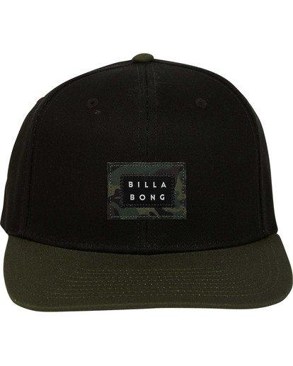 1 Plateau Snapback Hat Black MAHWTBPL Billabong
