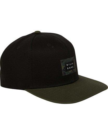 2 Plateau Snapback Hat Black MAHWTBPL Billabong