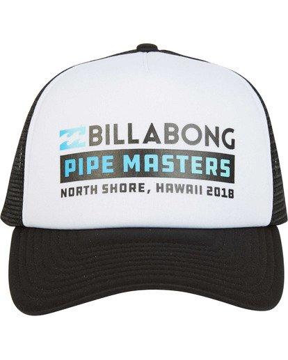 1 Pipe Masters Trucker Hat Black MAHWTBPM Billabong