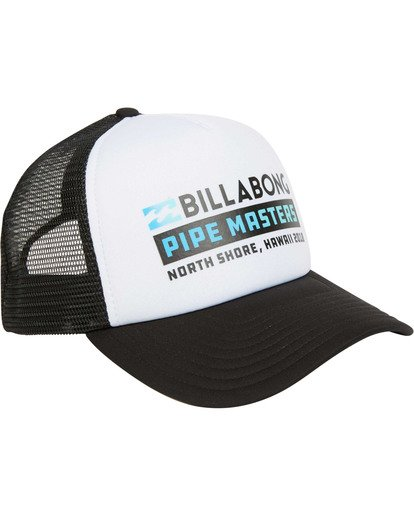 2 Pipe Masters Trucker Hat Black MAHWTBPM Billabong