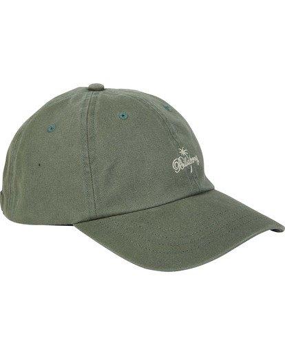2 Pontoon Lad Cap Green MAHWTBPO Billabong